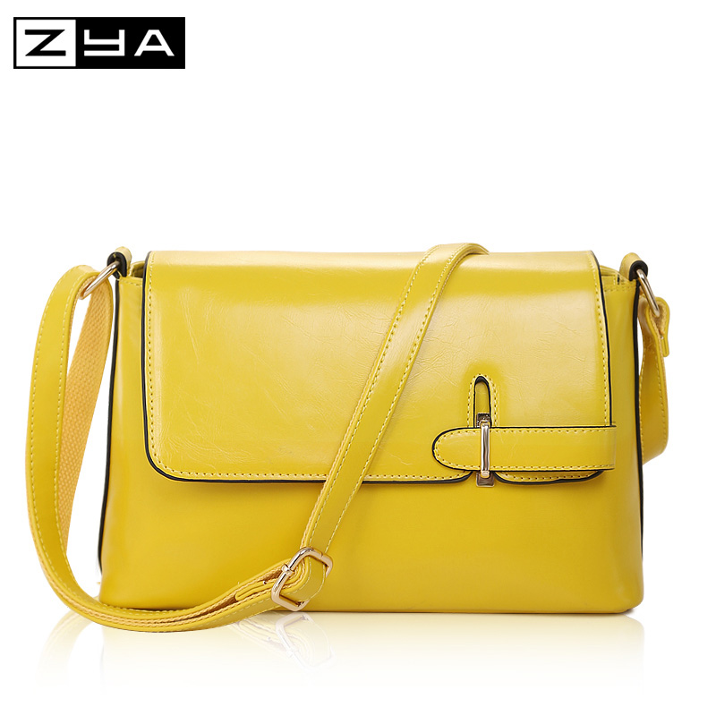 ZYA Fashion Marche Famose 2016 Luxury Brand Designer Women's Shoulder bag New Fall Leather Crossbody Messenger Bags
