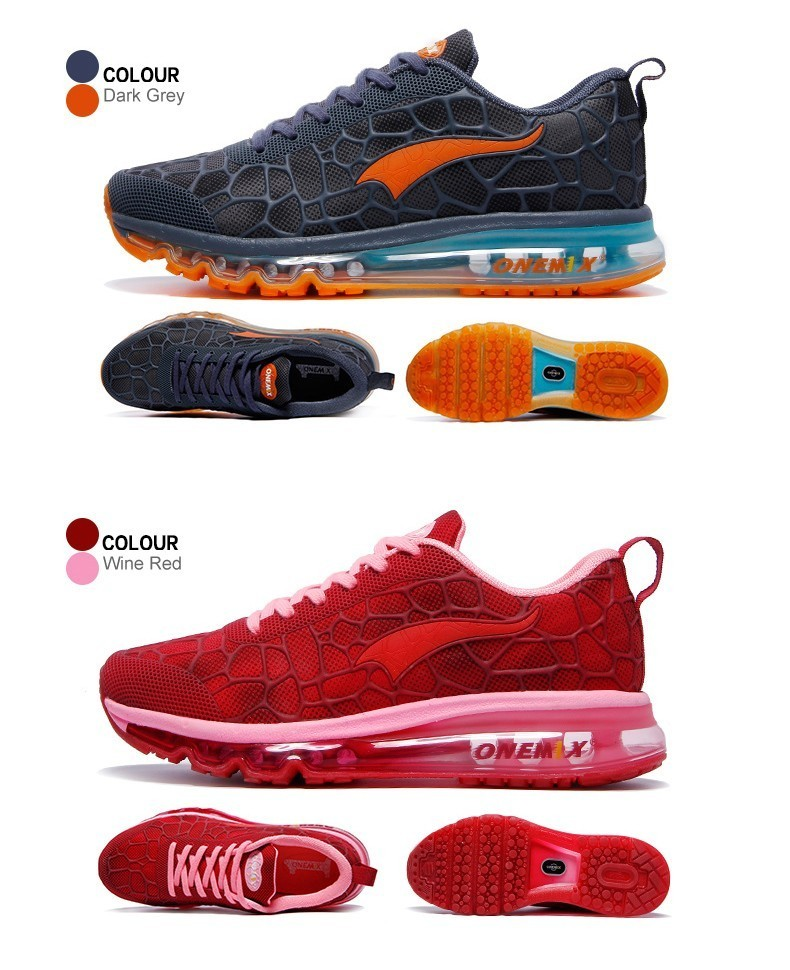 Onemix 17 New Women Running Shoes Air Mesh Breathable Sport Sneaker Athletic Trainers For Woman's Fitness Runner Lady Colorful 12