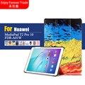 10 Цветов Цветной Рисунок Pu Кожаный Стенд Case Обложка Щит Для Huawei MediaPad T2 10.0 Pro FDR-A01L FDR-A01W FDR-A03L A04L