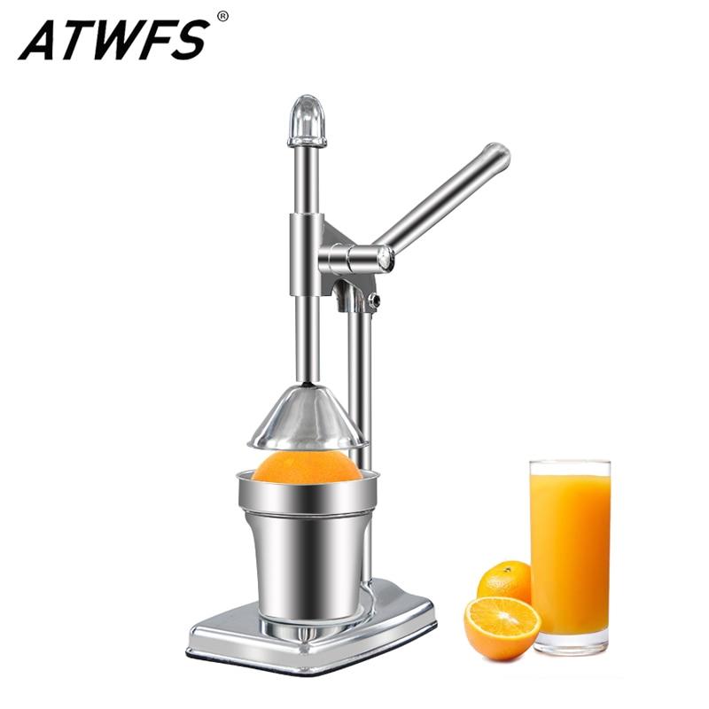 Manual Juicer Machine Orange Squeezer Citrus Silver Fruit Press Orange Portable Juicer Extractor Stainless Steel Dispenser цена и фото