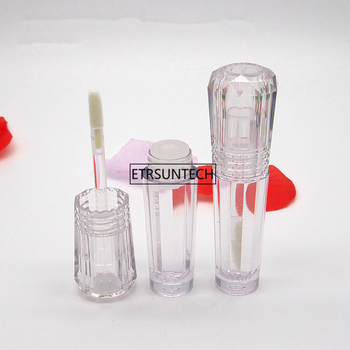 100pcs 3ml Makeup Liquid Empty Lipstick Lip Gloss Tubes Transparent Cosmetic Packaging Container F3220
