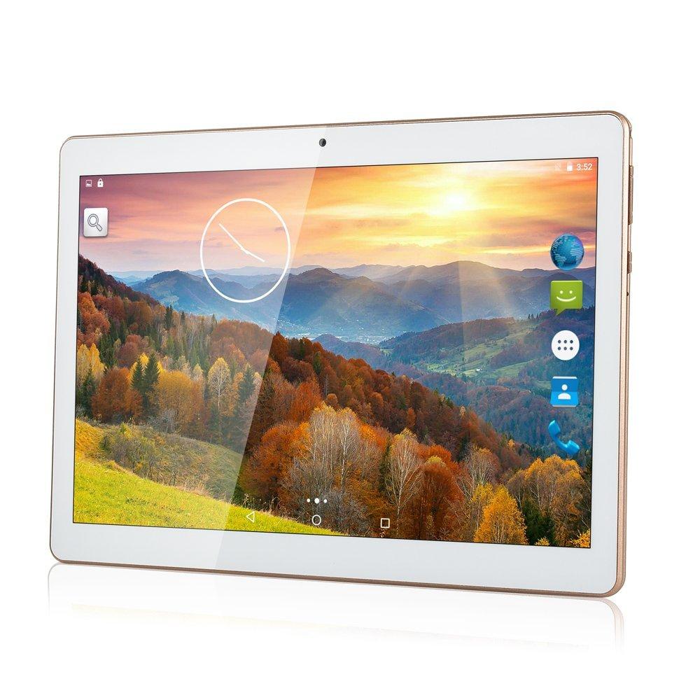 ZONNYOU Android 5.1 tablettes 10 pouces tablette PC Quad Core 2 GB RAM 32 GB ROM tablette PC double caméras tablettes 3G/4G LTE WIFI Bluetooth