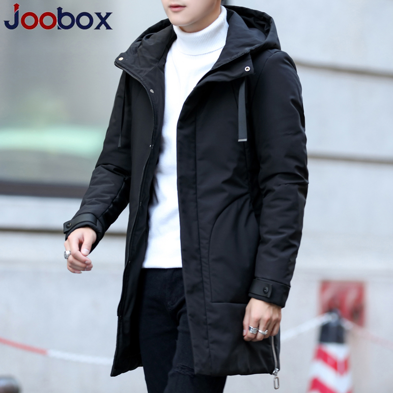 Luxury 2018 New arrival winter long jacket cotton thick male high quality Casual fashion   parkas   cotton coat men brand clothing