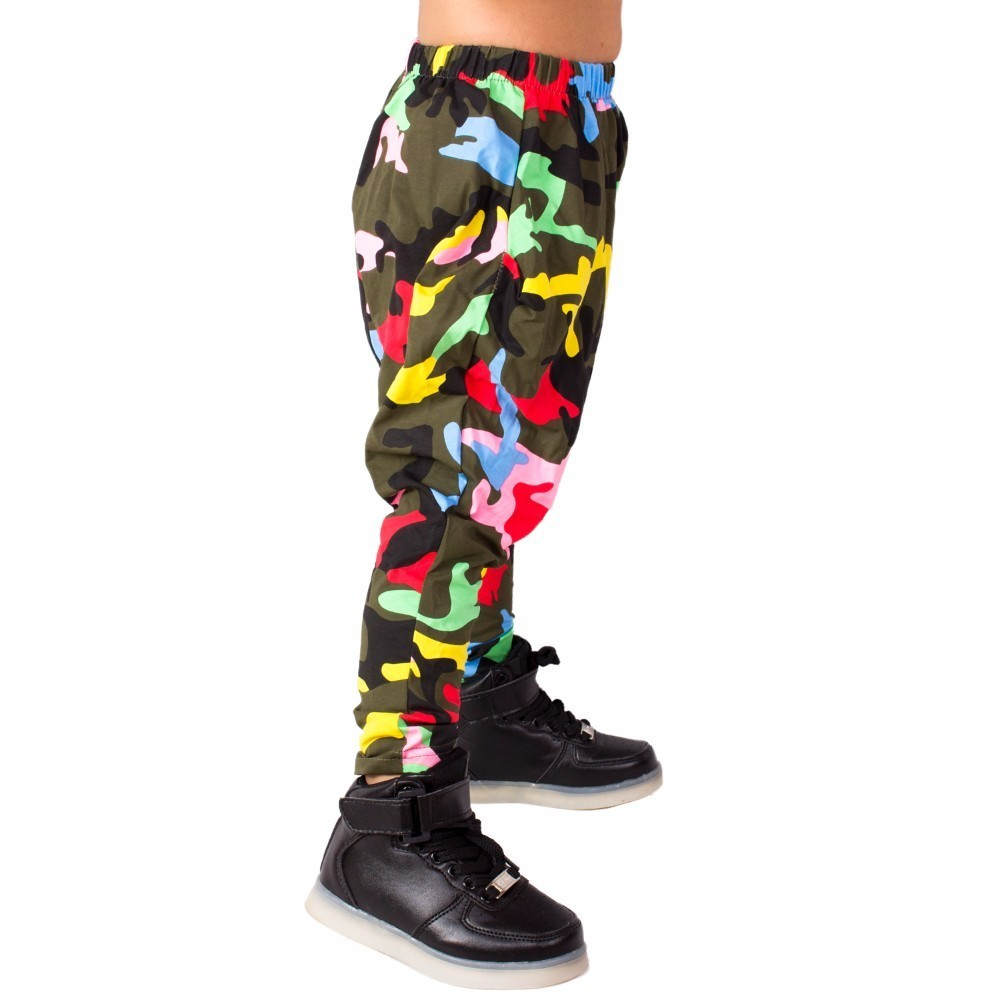 Heroprose 2018 Nieuwe persoonlijkheid Kleurrijke Camo big crotch - Kinderkleding - Foto 3