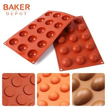 BAKER DEPOT Dome Silikon Kuchen Seife Mold Runde Schokolade Candy Fondant  Mould Pudding Gelee Eis Formen Kuchen Backen Backformen Werkzeuge