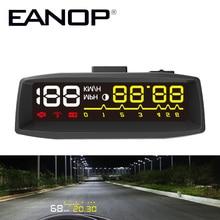 EANOP EN-SMART Headup Дисплей Smart OBD II HUD Автомобиль Проектор EOBD Системы установленных на Транспортных Средствах HUD Head Up для Toyota Форд Benz и т. д.