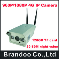 MINI Security Camera 4G Wireless IP camera NightVision IR 20m 50m with TF Card Slot