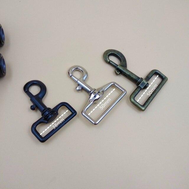Big Size 15 2 For 38mm 50mm Webbing Straps Metal Swivel Snap Hook Clips