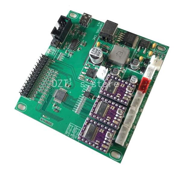 US $19 04 44% OFF|GRBL cnc engraving machine control board , 3 axis  control,laser engraving machine board USB port-in Woodworking Machinery  Parts from