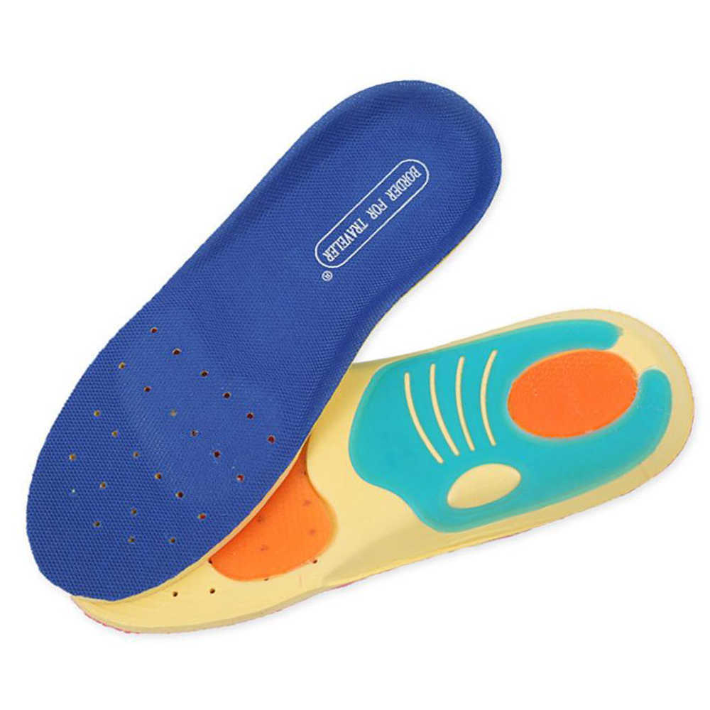 Sunvo Children Orthopedic Insoles for Kids Flat Foot Arch Support Orthotic Shoes Pads Soft Sport Running Cushion Inserts Insole