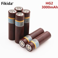 Fikida для LG HG2 18650 батареи 18650 3000 мАч электронная сигарета Перезаряжаемые батареи высокого разряда 30A большой ток