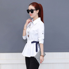 Office Work Wear Women Spring Summer Style Chiffon Blouses Shirts