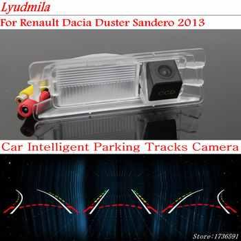 Lyudmila FÜR Renault Dacia Duster Sandero 2013 Auto Intelligentized Backup Kamera Rückansicht/Dynamische Beratung Tracks