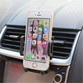Universal car air vent mount holder teléfono para iphone se 6 s 6 más 6 5S 5 4S 4 samsung galaxy s6 s5 s4 lg nexus sony nokia