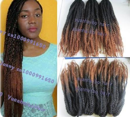 Stock Cheap Price 20 Fold Two Color Ombre Black Brown Cheap