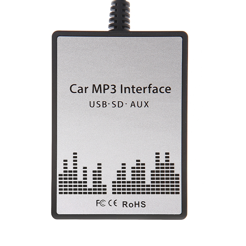 USB SD AUX voiture MP3 musique Radio numérique CD changeur Adapte pour Renault 8pin Clio
