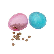 Transer Pet Dog Cat TPR Play Quack Sound Chew Treat Holder Ball Blue Toy Hot Pink And Blue 18 Dec25 P45(China)