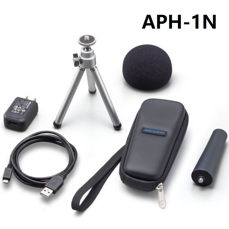 Zoom APH 1N Handy Recorder accessory kit for H1n ZOOM APH1N Recorder Accessory Pack-in Microphones from Consumer Electronics    1