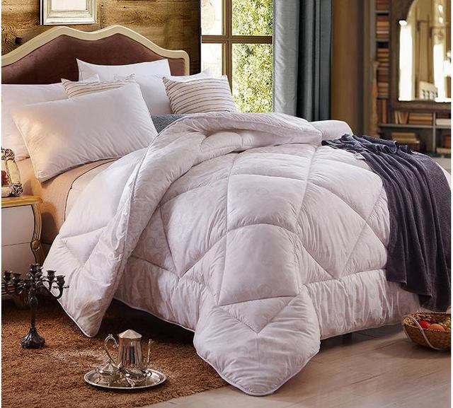 goose king allergenic dp com luxurious duvet thread pleat hypo amazon pinch heavy count rosecose size comforter down insert
