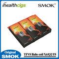 100% Original Smok TFV8 Bobina Bebé T8/Q2/X4 Core para TFV8 Tanque 5 unids