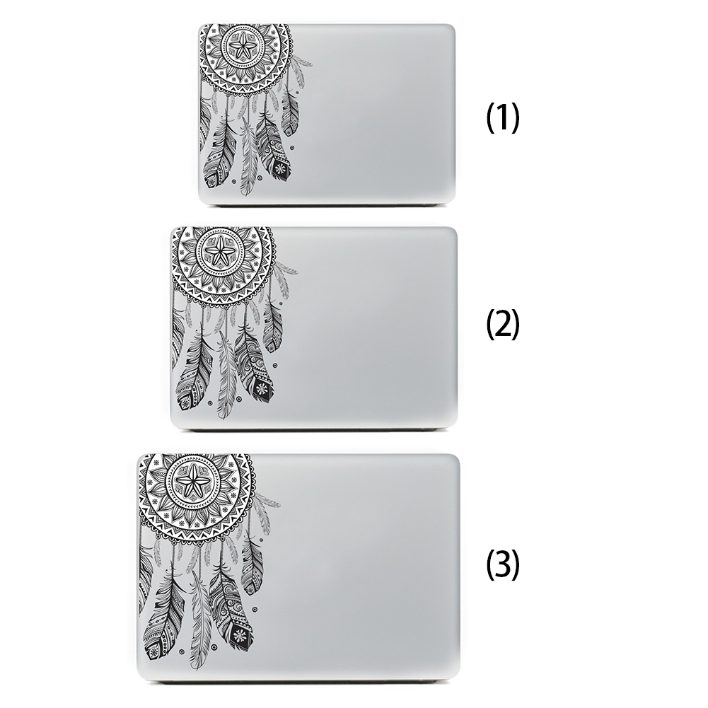 Fashion Flowers Laptop Skin Sticker Decal For Book Air Pro Retina 13  Book 11 13 15 Inch Notebook Computer Sticker Surface Decor