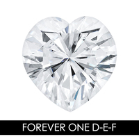 8,0 мм 1,80 карат 57 граней сердце Moissanites незакрепленный драгоценный камень D E F Цвет Charles & Colvard США создан Муассанит реального
