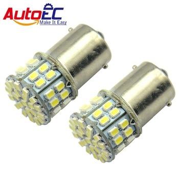 AutoEC 1156 50 SMD 1206 1157 BA15S BAY15D P21W P21/5W 3020 LED Autolamp Car Parking Brake Turn Signal Light Lamp Bulb 100x #LF02
