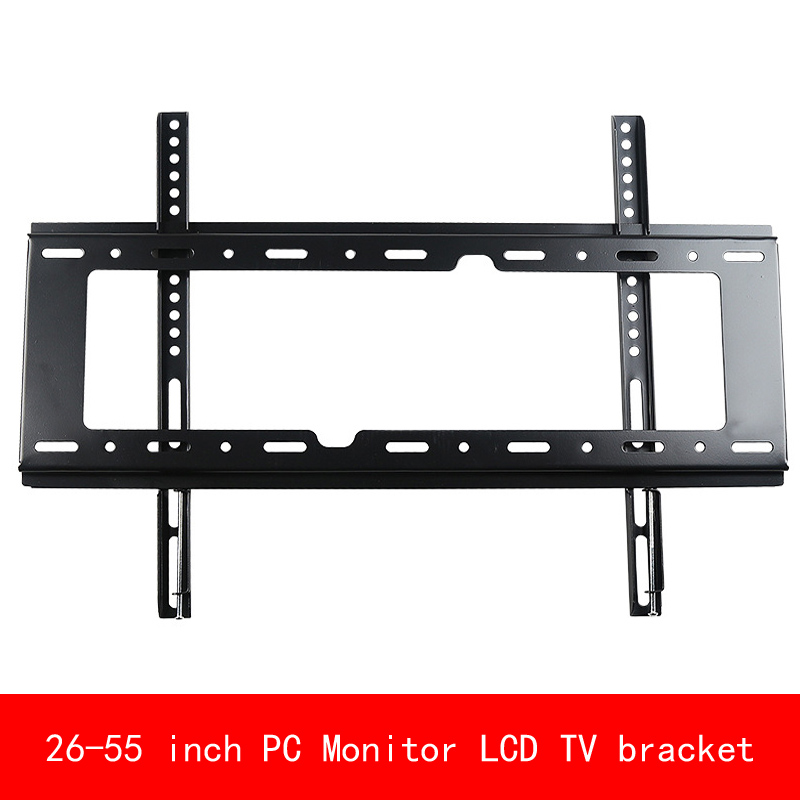 VESA standard Universal 26-55 inch adjustable plasma PC Monitor LCD TV bracket Display TV wall mount stent vesa standard 14 32 inch move up or down pc monitor plasma lcd tv bracket vertical toughened glass base stent