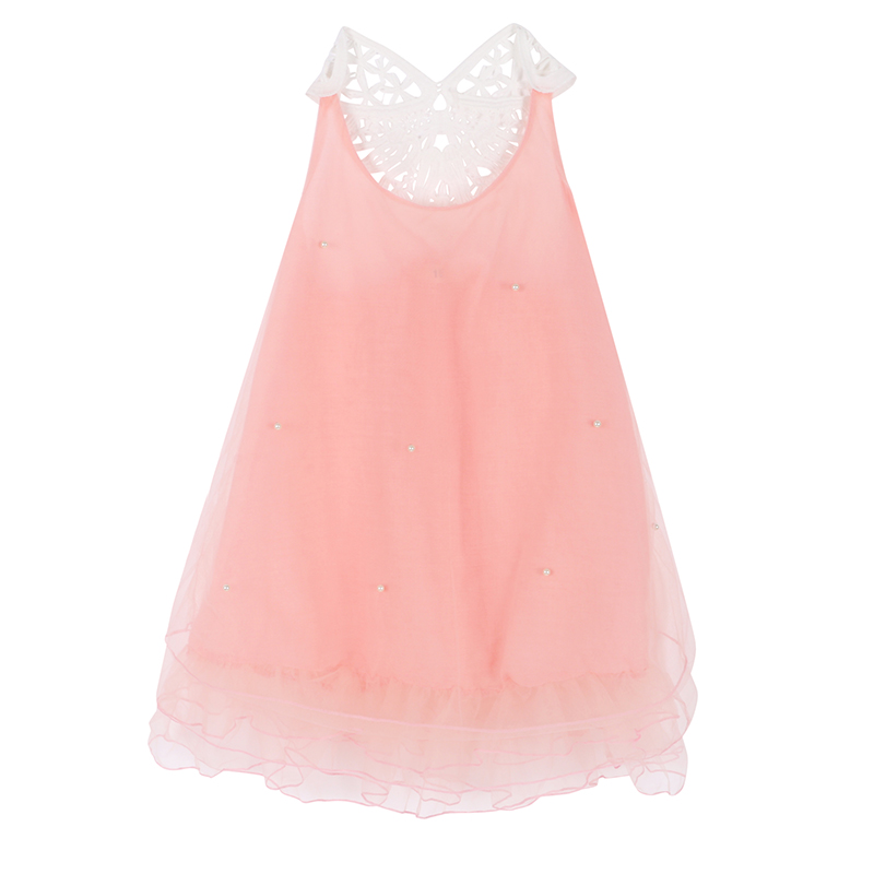 Girl Princess Dress Kids Baby Flower Party Wedding Lace Tulle Tutu Dresses