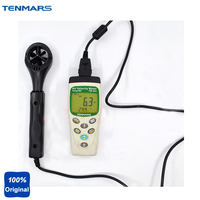 TM 403 Digital Portable Air Speed Meter,Air Velocity Meter,Temperature Tester,Humidity Meter