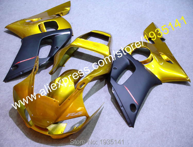 Hot Sales,For Yamaha fairings YZF R6 98 99 00 01 02 YZFR6 fairing 1998 1999 2000 2001 2002 YZF-R6 ABS body (Injection molding)