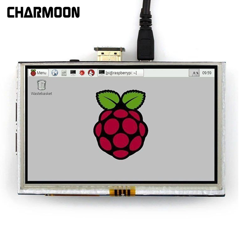 7 Inch Capacitive 5 Point Touch Screen 800x480 TFT LCD Display HDMI Module for Raspberry Pi