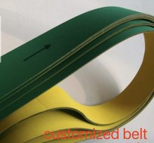 (can customized belt )3pcs Woodworking planer belt flat Timing belt(China)