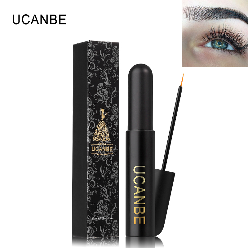 UCANBE Brand Eyelash Growth Treatment Liquid Makeup Powerful Thicker Lengthening Extension Eye Lash Enhance Cosmetic Eyes