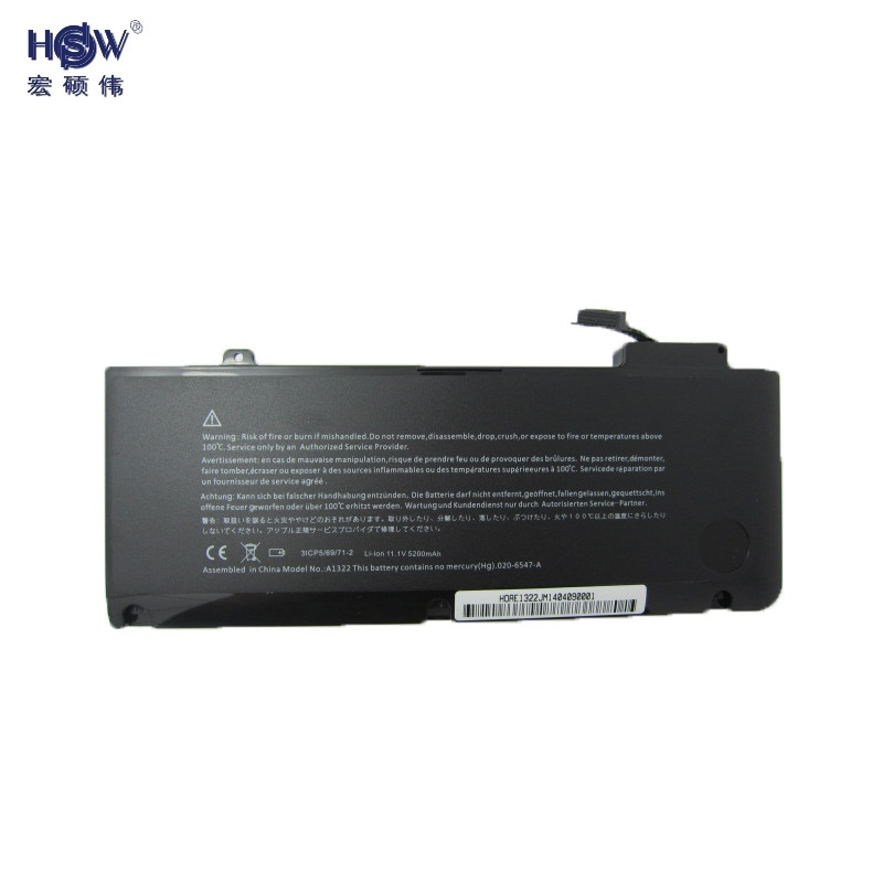 Подробнее о batterias notebook laptop battery for APPLE A1278 (Mid 2009 Mid 2010 Early 2011) MB991LL/A MC374LL/A MC375LL/A A1322 bateria laptop battery for apple for macbook pro 17 a1297 a1309 for early 2009 for mid 2009 for mid 2010