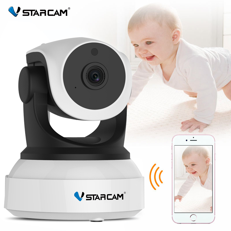 Vstarcam C7824WIP Baby Monitor wifi smart camera audio a 2 vie con rilevazione di movimento Telecamera IP di sicurezza Wireless Baby Camera