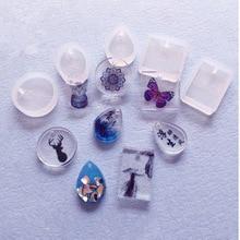 5 стилей/Набор DIY силиконовые ювелирные изделия изготовление эпоксидной смолы формы ручной работы Полимерная форма ювелирные изделия инструменты