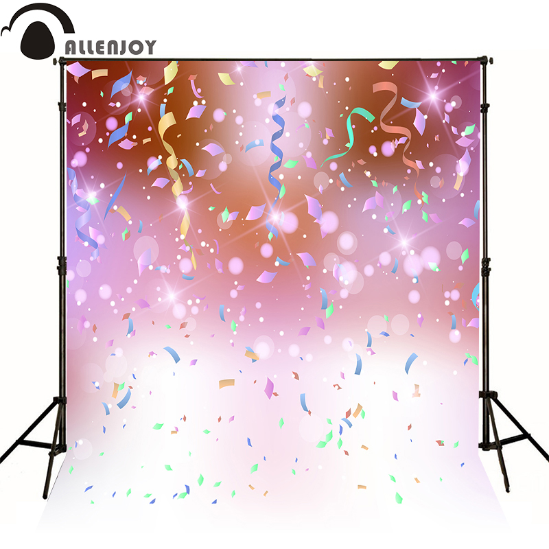 AllEnjoy photography background Light fireworks ribbon birthday newborn celebrat flags Professional photographic backdrop studio allenjoy 10ftx6 5ft fireworks photography backdrop black night romantic wedding background for photography studio without stand