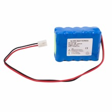 2000mAH New Electrocardiogram machine battery for M&B ECG1206