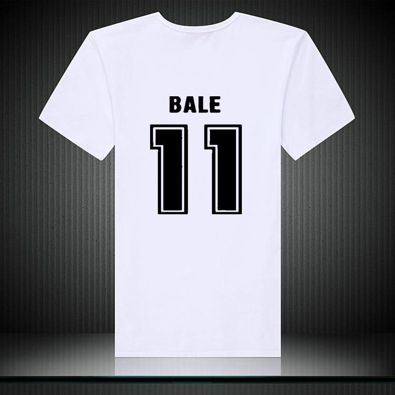 Bale 11 Tee T shirt 2018 soccering games madrid europe programs
