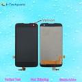 Оригинал Для LG K4 ЖК-Дисплей + Экран Ассамблея Сенсорный Дигитайзер с Логотипом 5.0 дюймов LTE K120AR K120E K121 K130E
