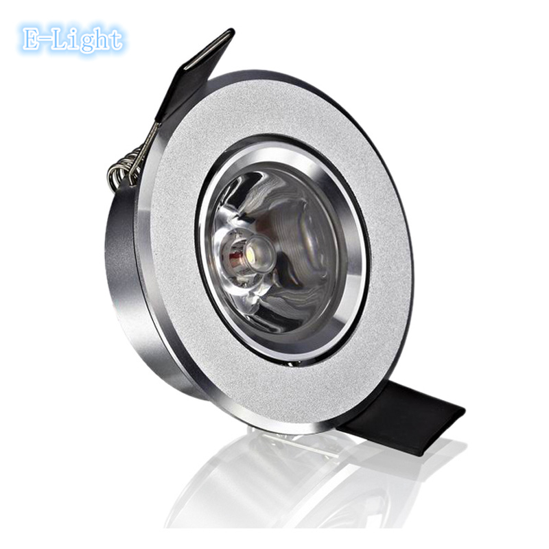 """Dimmable Led Ceiling spot light 1w 3w,2"""" cut 60mm ..."""
