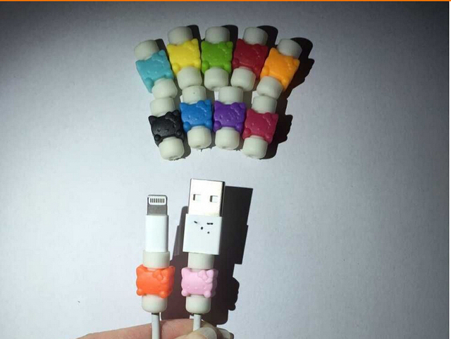 Cute plastic cable protector Cord protection Wire Cover Wrap ...