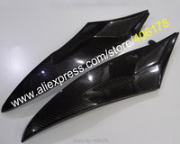 Hot Sales,2 x Carbon Fiber Tank Side Covers Panels Fairing For Yamaha YZF R6 2006 2007 YZF R6 06 07 YZFR6 Tank Side Cover Panel