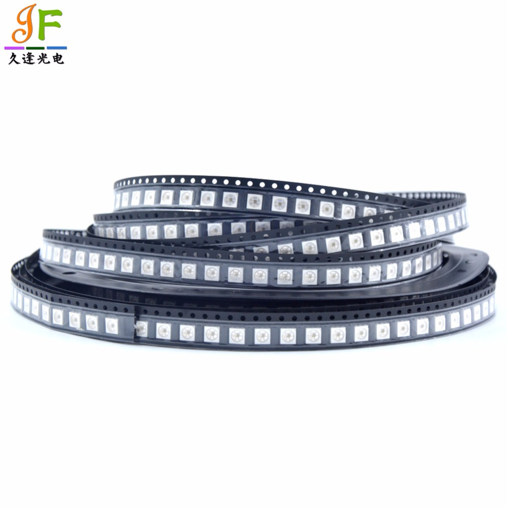 50~1000pcs SK9822 Integrate in SMD 5050 RGB Chip Built-In LED Individually Addressable 5V with DATA and CLOCK seperately