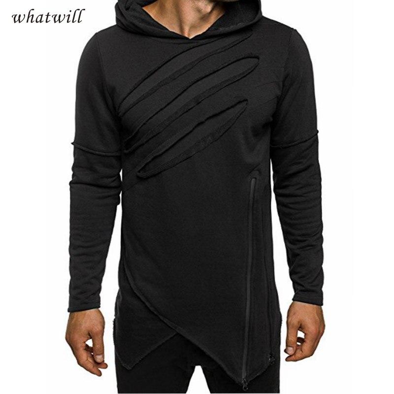 font b Hoodies b font Sweatshirts Casual Hooded Slim Fit Hip Hop Sportwear New Fashion