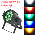 free shipping 7x15w RGBWA 5in1 led par light for stage dj club lights