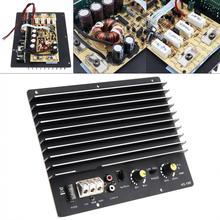 Czarny trwały 1000w 12V potężny bas Subwoofer samochodowy sprzęt audio wysoka płyta wzmacniacza zasilania samochodowy sprzęt audio niski głośnik tanie tanio NoEnName_Null Zamknięta systemy subwoofer 4ohm Subwoofery 12 v Car Audio High Power Amplifier 0 83kg Black 212 x 175 x 52mm