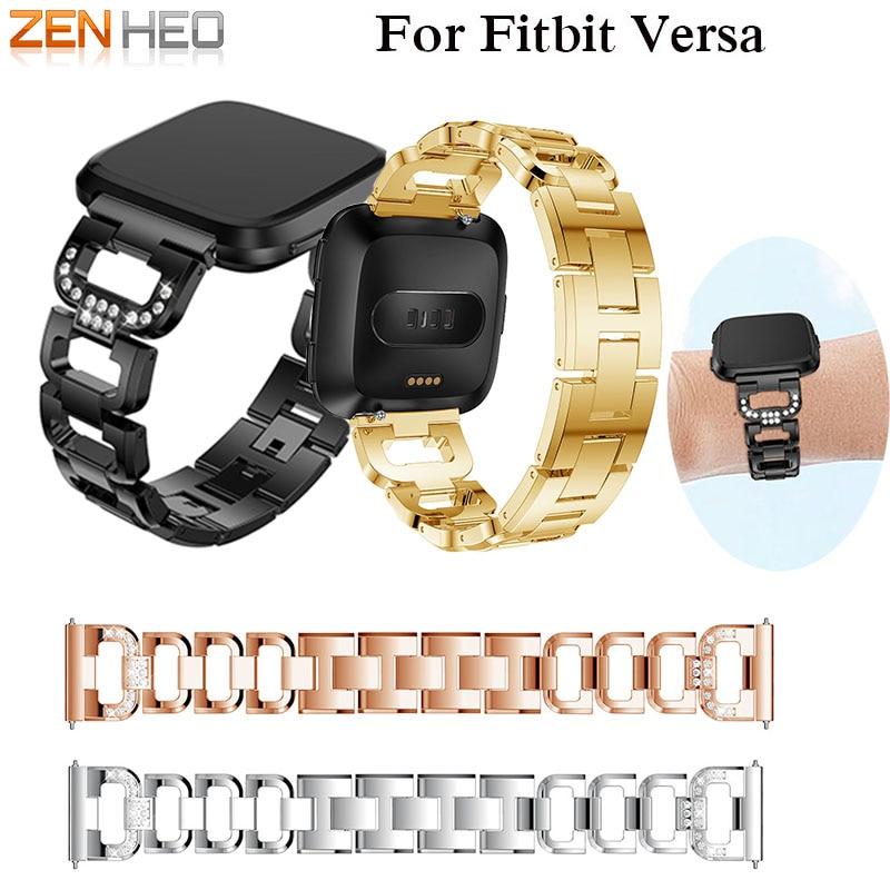 Nehrđajući čelik Band za Fitbit Versa Smart Watch Ručni satovi s - Pametna elektronika - Foto 1
