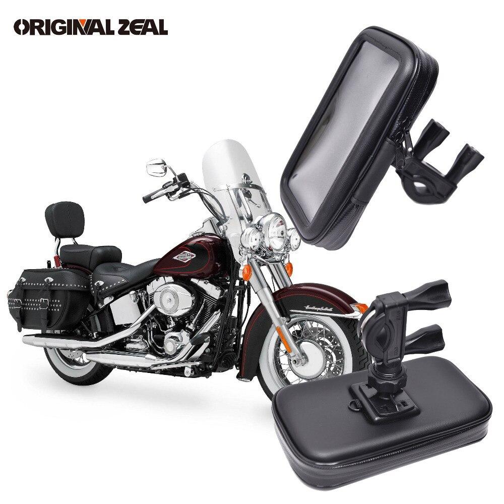 Universelle Wasserdichte Tasche Tasche Motorrad Unterstützung Handyhalter Bike Mount-Stand soporte movil moto für iPhone GPS